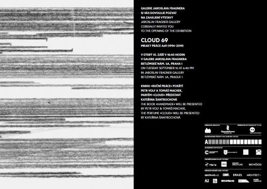 Pozvánka na vernisáž výstavy Cloud 69