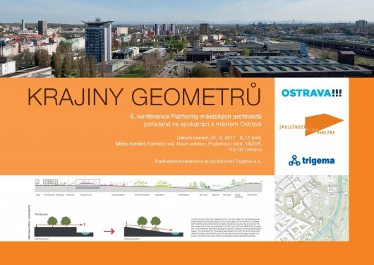 Krajiny geometrů: 6. konference Platformy městských architektů