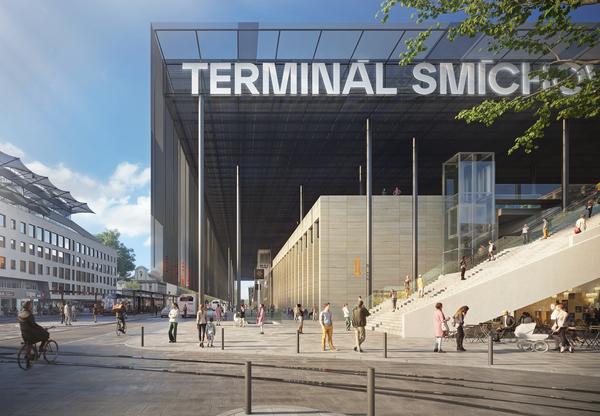 Praha schválila podobu Terminálu Smíchov