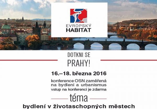 """Pozvánka na konferenci """"Evropský Habitat"""""""