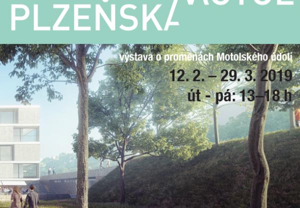 Výstava Územní studie Motolské údolí - prodloužena!