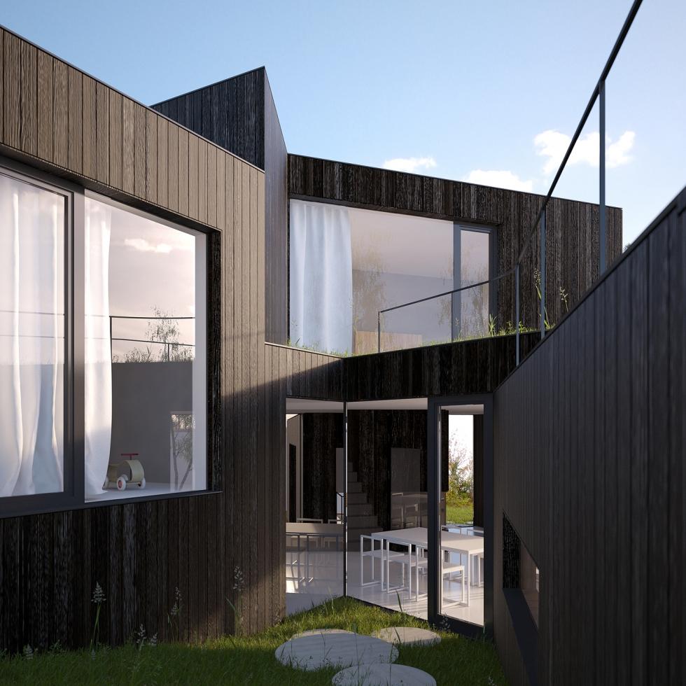 Rozvětvený dům
