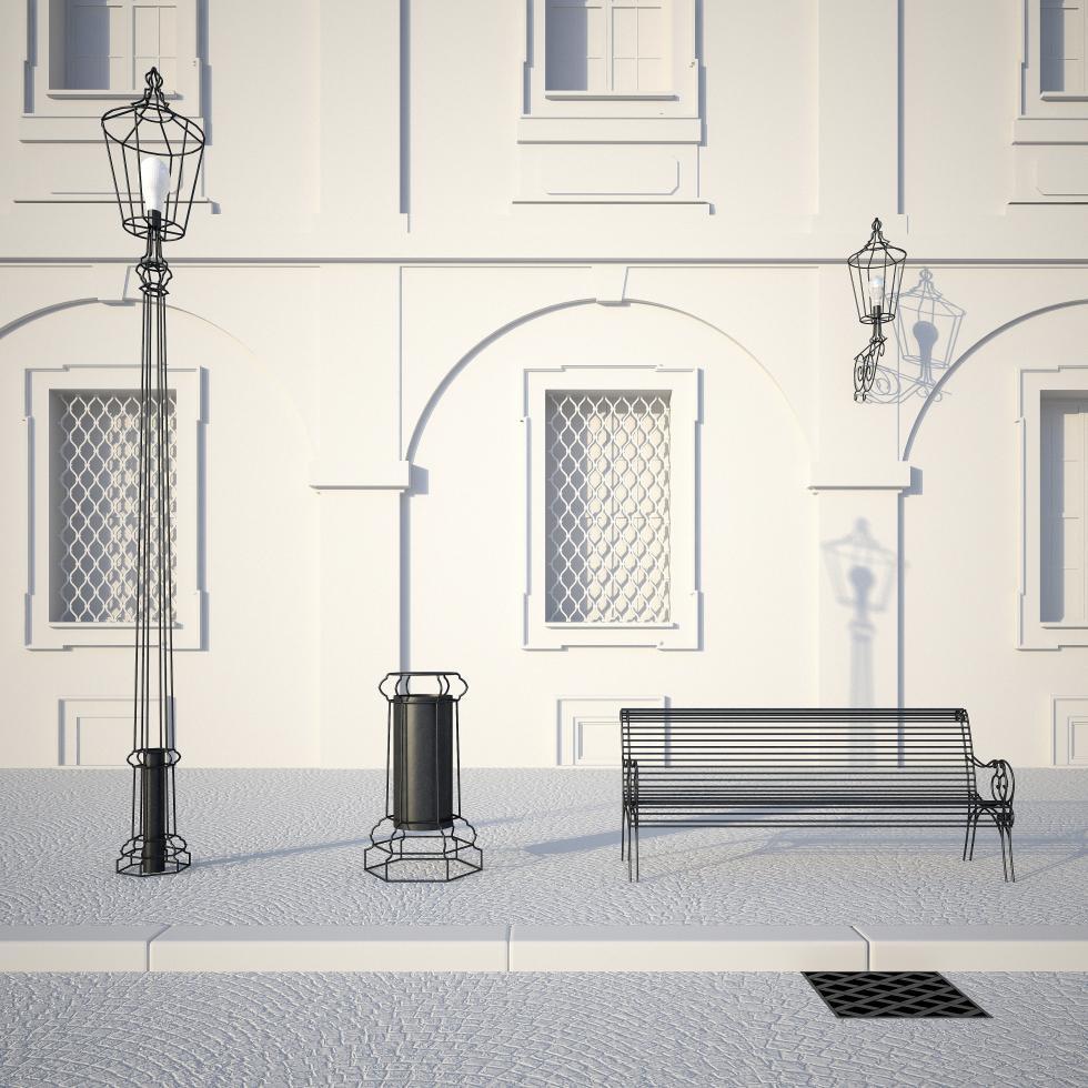 Městský mobiliář pro Cheb